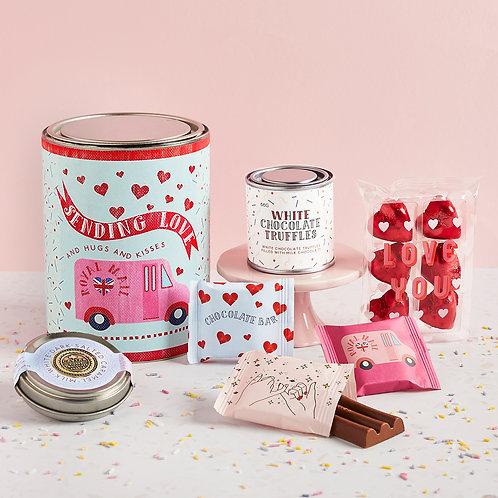 Sending Love! Chocolate Lovers Gift Tin