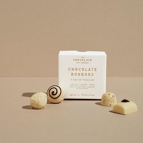 Mini White Chocolate Truffle Box