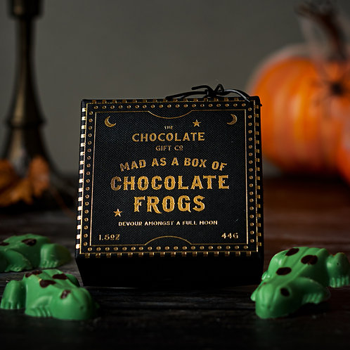Mad As A Box Of Chocolate Frogs