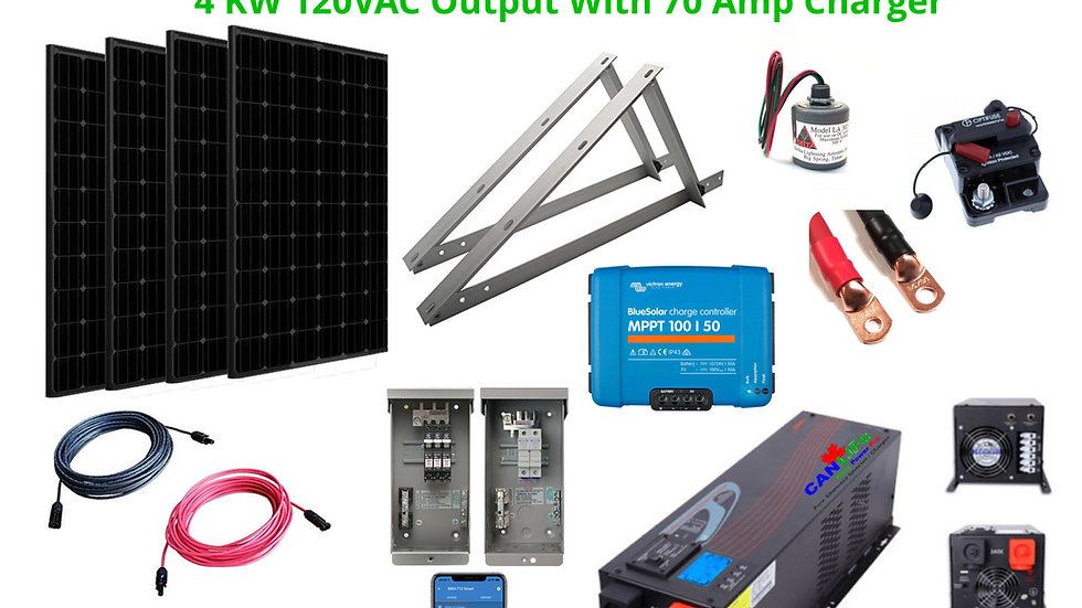 Large Cottage Solar Power Kit