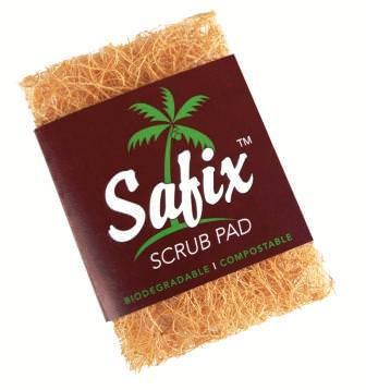 Safix Coconut Fibre Scrub Pad (Large)