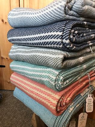 Oxford Stripe Blankets