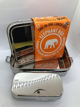 2 in 1Elephant Box Lunch/Snack Box