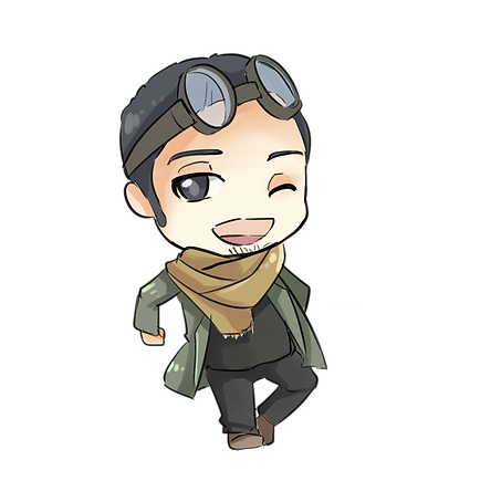 Chibi - Dying of Exposure Ron.png