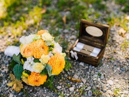 Die Hochzeit von Jasmin & Johannes - Brautkleidreinigung mit mybestman