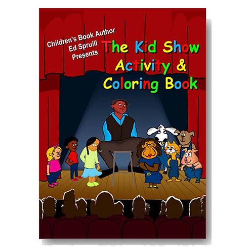 Kid Show Activity Book