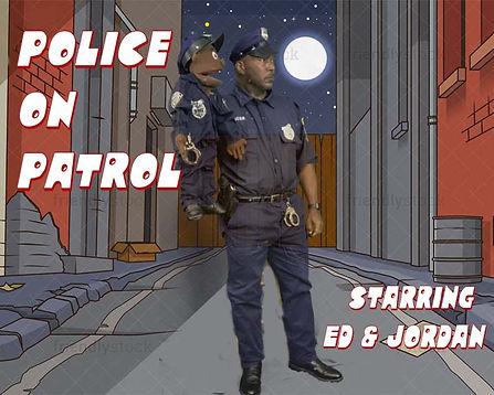 police on patrol 10x8.jpg