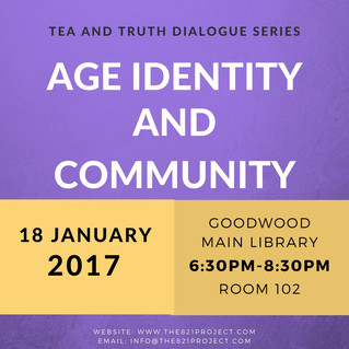 Tea and Truth Dialogue Series: Age Identity and Community