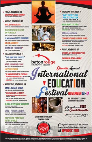 BRCC International Education Festival