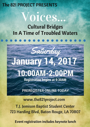 Voices: Cultural Bridges In A Time Of Troubled Waters
