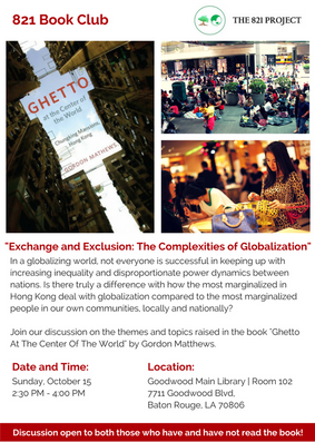 Ghetto At The Center Of The World Flyer