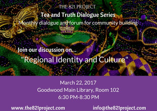 Tea and Truth Dialogue Series: Regional Identity and Culture