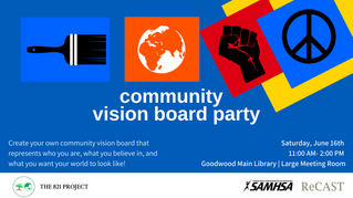 POSTPONED: Community Vision Board Party
