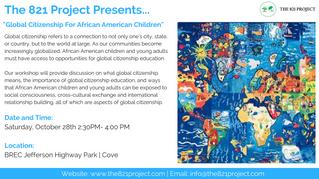 Workshop: Global Citizenship For African American Children