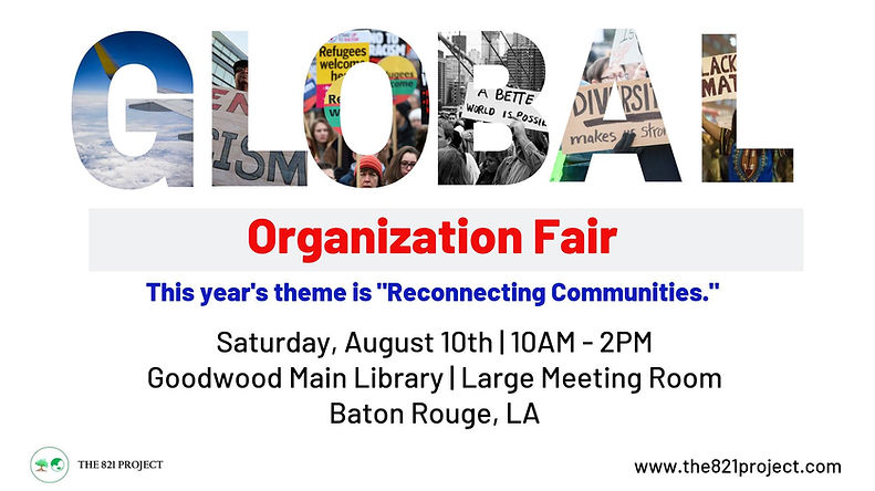Global Organization Fair (official flyer