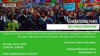 Generational Panel: Race Across Generations
