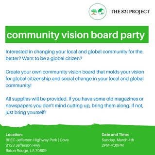 Community Vision Board Party