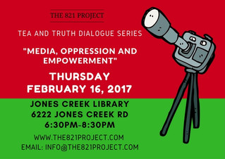 Tea and Truth Dialogue Series: Media, Oppression and Empowerment
