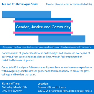 Gender, Justice and Community