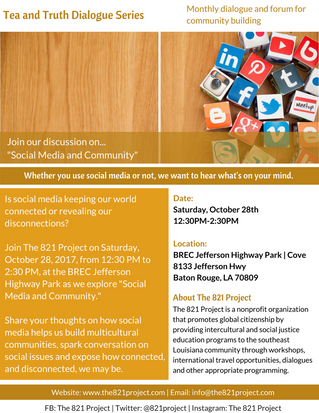 Tea and Truth Dialogue Series: Social Media and Community