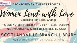 Women Lead With Love: Educating For Social Change