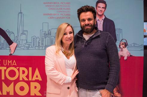Convidados especiais na pré-estreia do filme 'Talvez Uma História de Amor'
