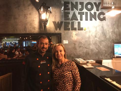 Chef Adriano Sadowik noEnjoy Eating Well
