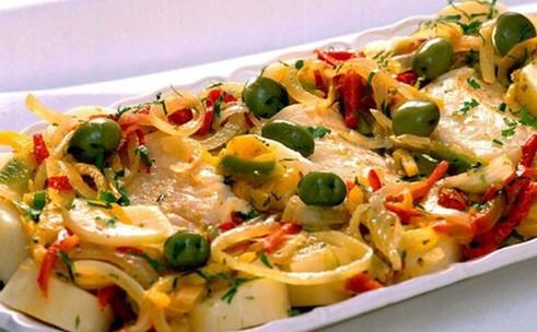 Receita de Bacalhau delicioso e light
