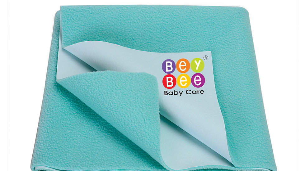 BeyBee Bed Protector Waterproof Dry Sheet for New Born Babies & Adults Maroon