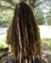 🌿 Gorgeous Dreadlocks and synthetic acc