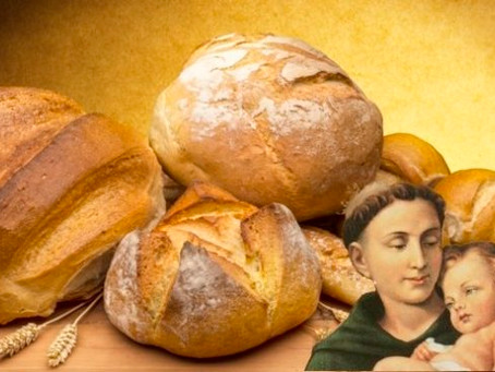 Church Reopening & St. Anthony's Bread