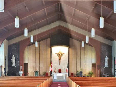 Parish Update Letter - June 21, 2020