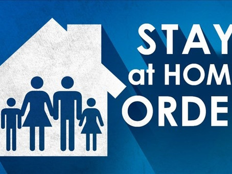 IMPORTANT LETTER - Stay-at-Home Order