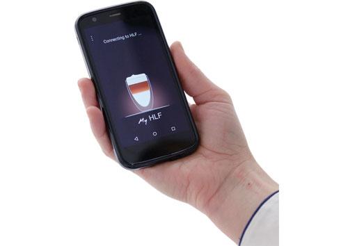 Kaffe Compagniet AS HLF 1700 smartphone.