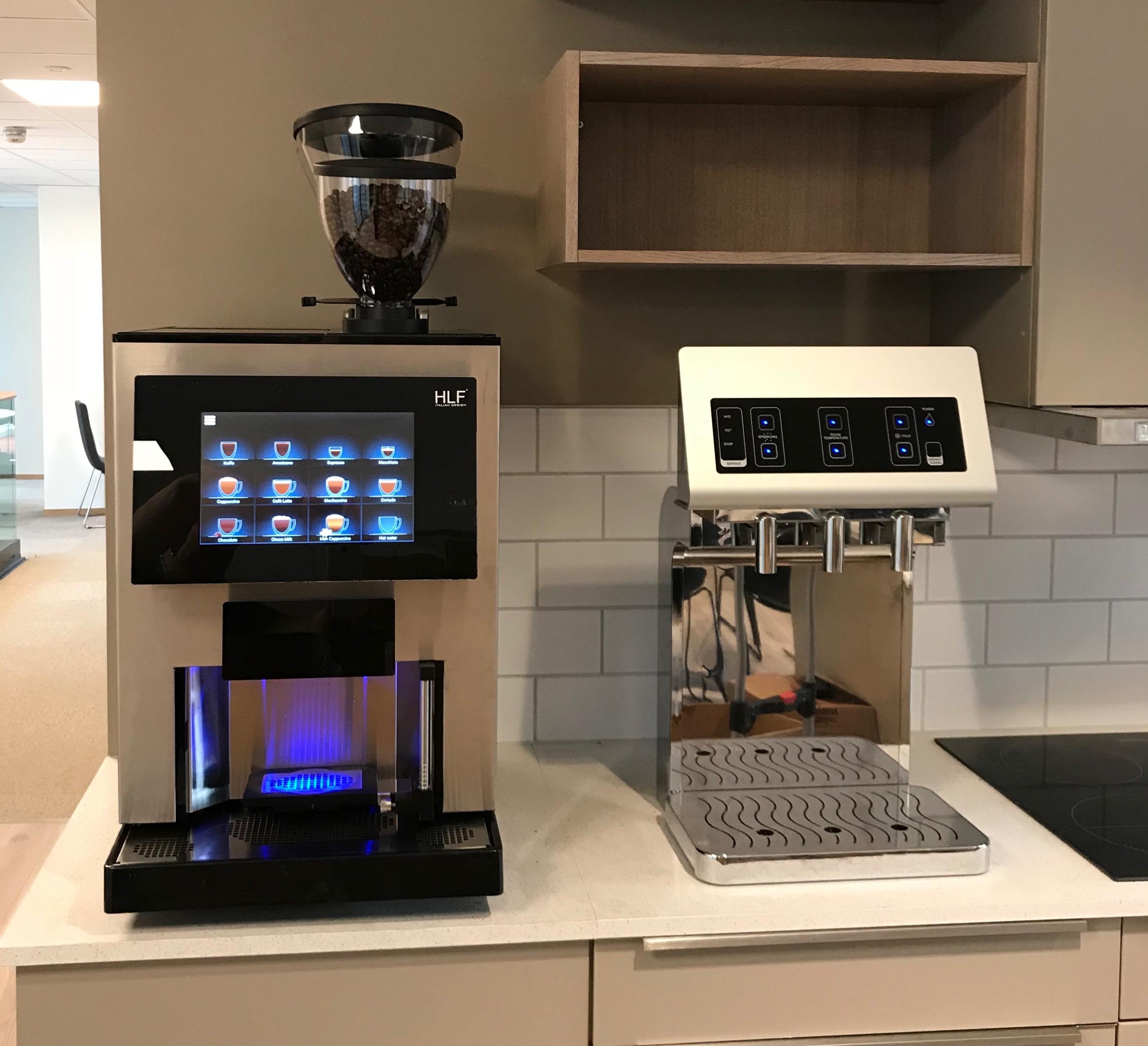 Kaffe Compagniet AS HLF 3700 og Blupura