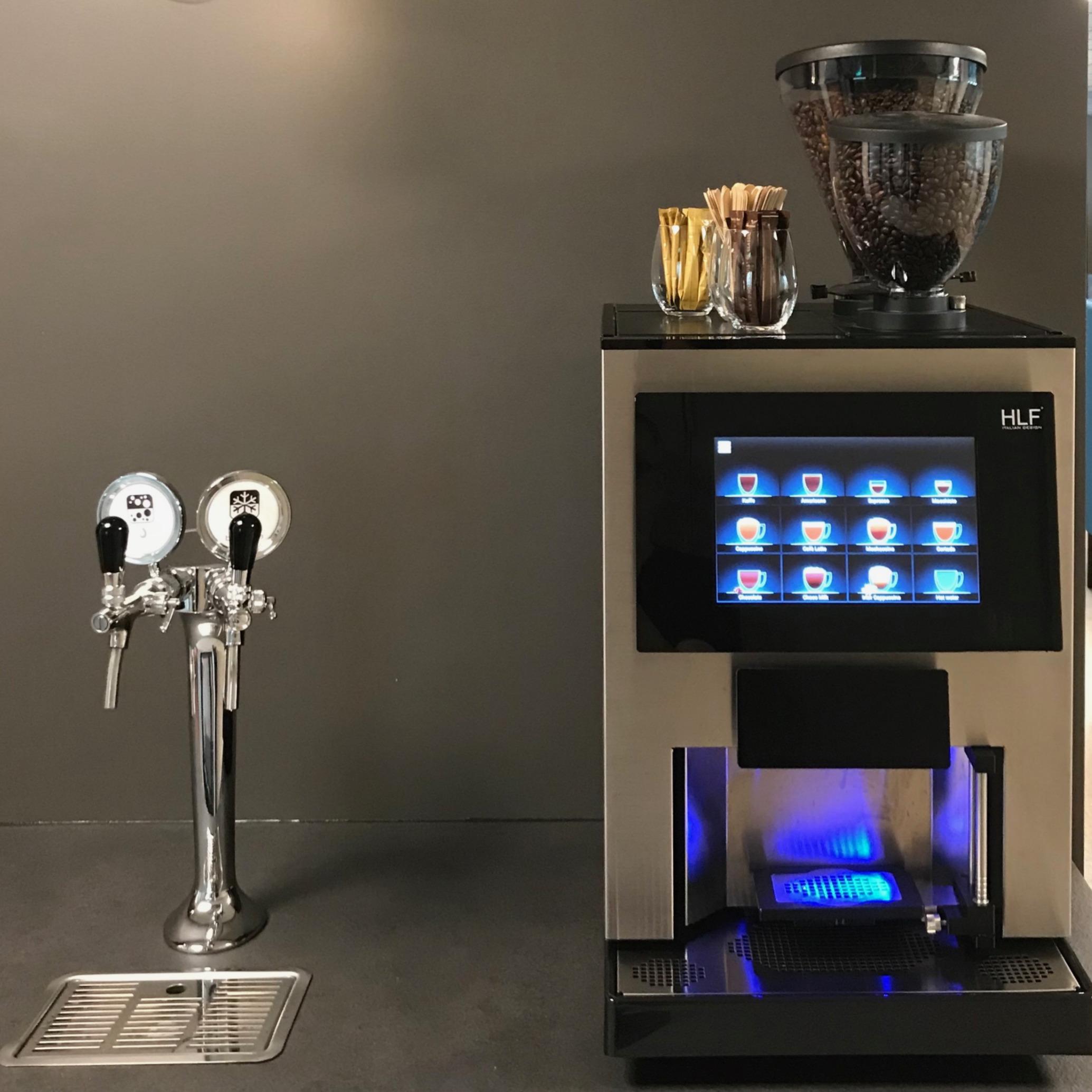 Kaffe Compagniet AS HLF3700 og Blupurajp