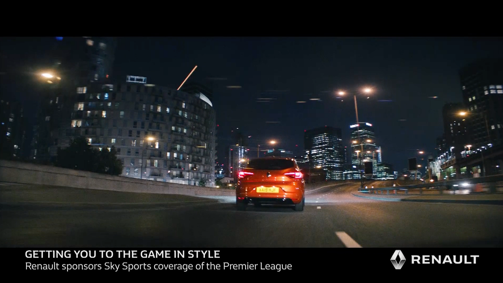 Renault - Getting you to the game in style