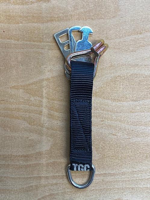 3 Seat Belt Clips & Hooks