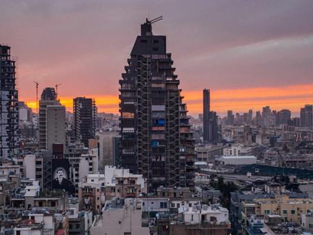 A Beyrouth, la tour Skyline, symbole de l'horreur du 4 août