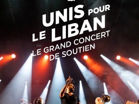 Hilwa Ya baladi et Lettre à la France associées en musique et soirée Unis pour le Liban le 1/10/2020