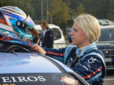 Challenging first race for Jessica Bäckman, as Hyundais struggle with top speed