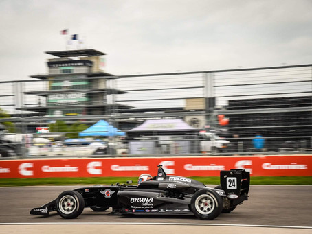 USF2000: more valuable points for Tomaselli