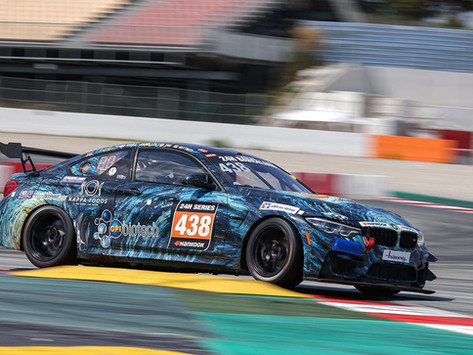 Samantha Tan takes class win at 24H of Barcelona, podiums for Preisig and Clark