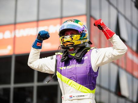 Beitske Visser wins round 2 of Wseries in Zolder