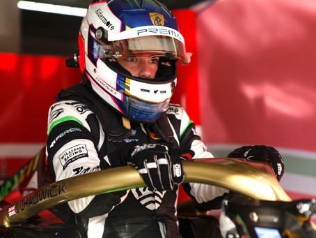 F3 Regional: Chadwick P9 in Imola race 2