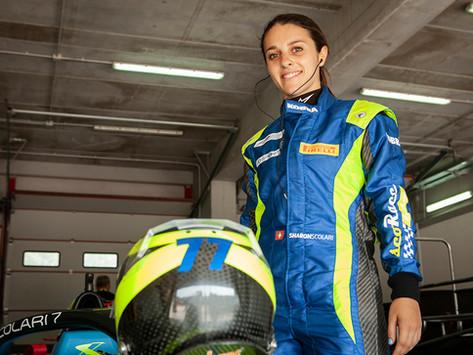 Sharon Scolari: the race driver next door.