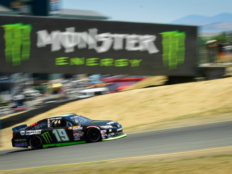 Deegan has to settle for 8th in Sonoma after starting from pole