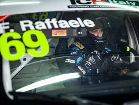 Positive final racing weekend for Francesca Raffaele at Imola in the Italian TCR