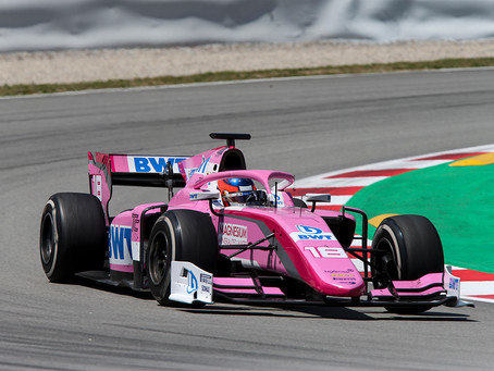 F2: Calderon finishes P13 in Barcelona race 1