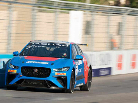 Powell and Eaton shine again in Jaguar iPace eTrophy second race